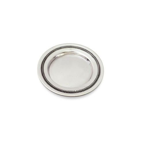 Yemenite filigree Sterling Silver Kiddush Plate