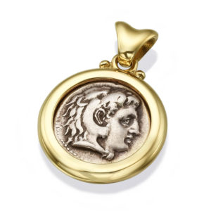 Authentic Alexander Coin Gold Pendant - Baltinester Jewelry