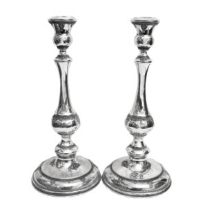 Elegant Sterling Silver Candlesticks - Baltinester Jewelry
