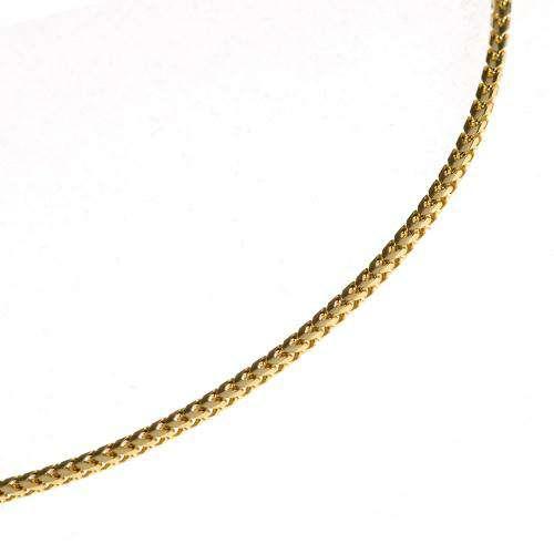 14k Yellow Gold Franco Chain 1.1mm 16-28