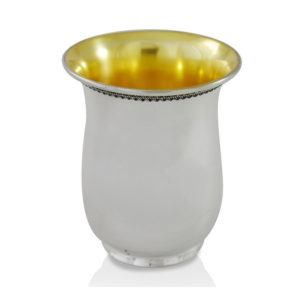 Avraham Sterling Silver Kiddush Cup - Baltinester Jewelry