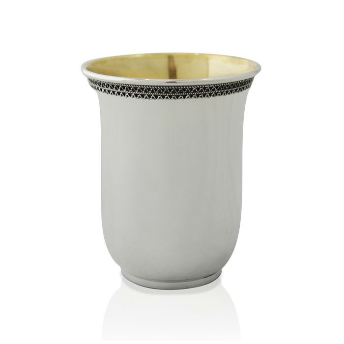 Gedalia Classic Kiddush Cup - Baltinester Jewelry