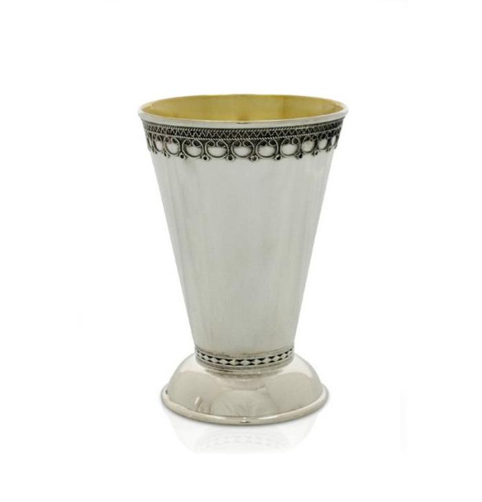 Eyal Small Kiddush Cup - Baltinester Jewelry