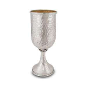 Vital Hammered Kiddush Cup - Baltinester Jewelry