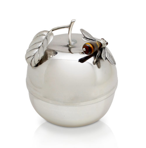 Devash Apple-Shaped Honey Dish - Baltinester Jewelry