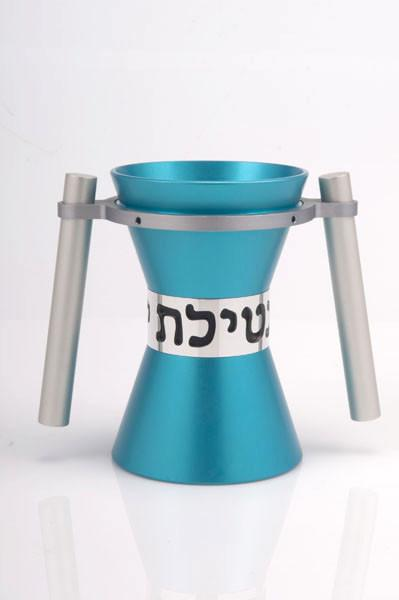 Large Contemporary Washing Cup - Teal - Baltinester Jewelry