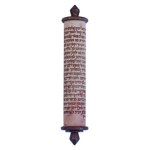 Shema Yisrael Stone Mezuzah - medium - Baltinester Jewelry