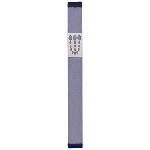 Mezuzah Dots Shin (XL) - Gray - Baltinester Jewelry