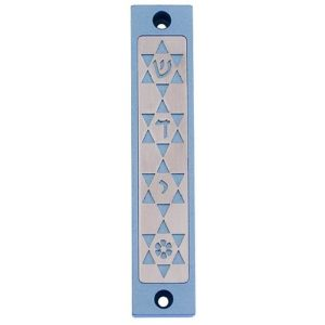 Four Stars of David Mezuzah - Baltinester Jewelry