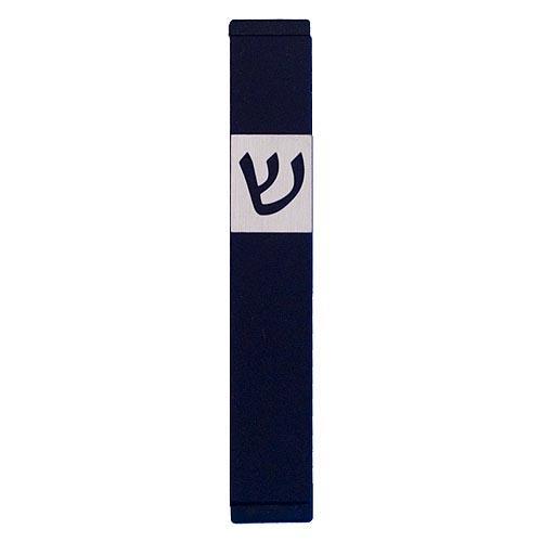 Classic Shin Mezuzah (Small) - Black - Baltinester Jewelry