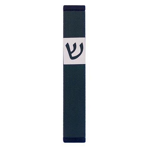 Classic Shin Mezuzah (Small) - Green - Baltinester Jewelry
