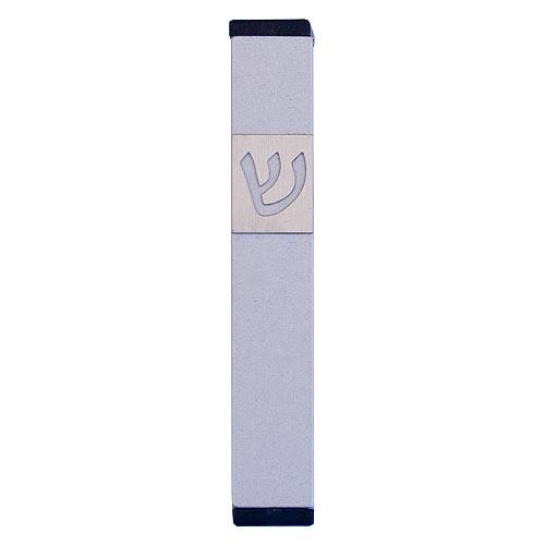Classic Shin Mezuzah (Small) - Silver - Baltinester Jewelry