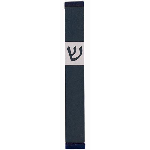 Classic Shin Mezuzah (Medium) - Green - Baltinester Jewelry