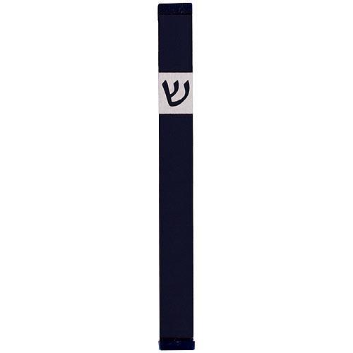 Classic Shin Mezuzah (XL) - Black - Baltinester Jewelry