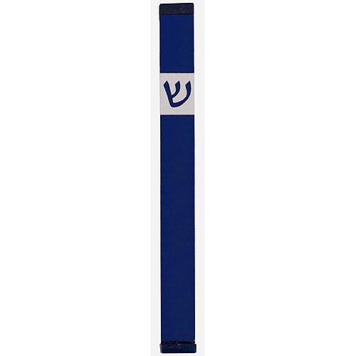 Classic Shin Mezuzah (XL) - Blue - Baltinester Jewelry