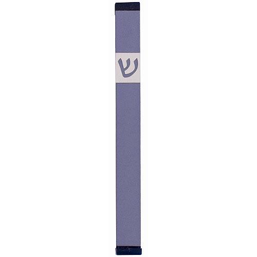Classic Shin Mezuzah (XL) - Gray - Baltinester Jewelry