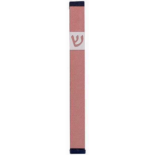Classic Shin Mezuzah (XL) - Pink - Baltinester Jewelry