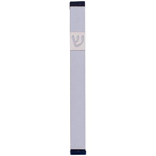 Classic Shin Mezuzah (XL) - Silver - Baltinester Jewelry