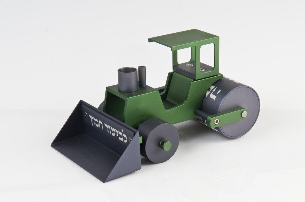 Steamroller Chametz Collector - Green - Baltinester Jewelry