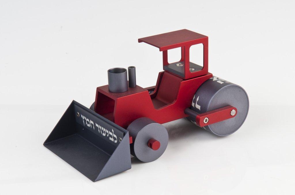 Steamroller Chametz Collector - Red - Baltinester Jewelry