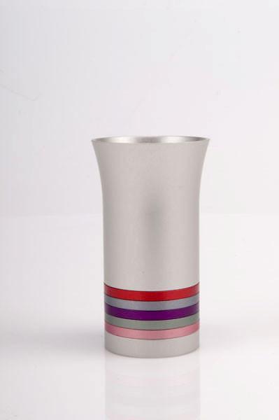 Modern Colorful Kiddush Cup - Multi - Baltinester Jewelry