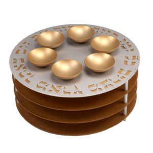 Seder Plate 3 Levels - Baltinester Jewelry