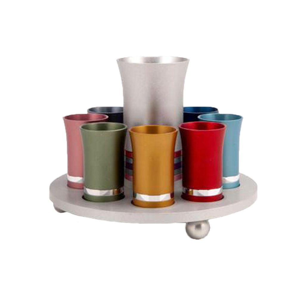 Kiddush Cup Set for 8 - Baltinester Jewelry