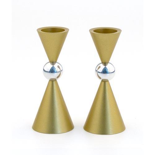 Modern Mini Ball Candle Holders - Gold - Baltinester Jewelry