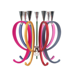 Colorful Expandable Family Candelabra - Baltinester Jewelry