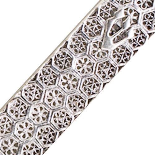Sterling Silver Box Style Filigree Mezuzah 4 - Baltinester Jewelry