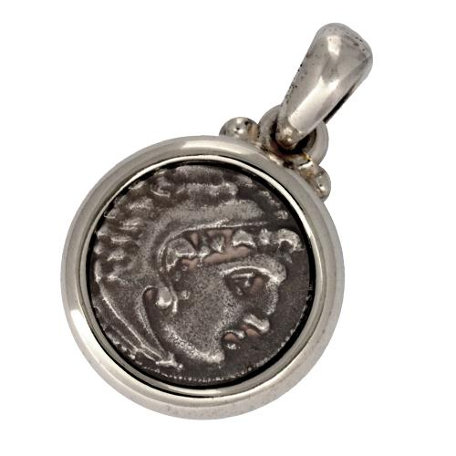Alexander The Great Coin Pendant - Baltinester Jewelry