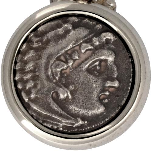Alexander The Great Coin Pendant 2 - Baltinester Jewelry