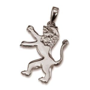 14k Gold Large Lion of Judah Pendant - Baltinester Jewelry