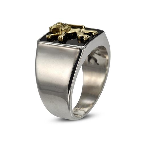 Lion of Judah Silver Signature Ring 2 - Baltinester Jewelry