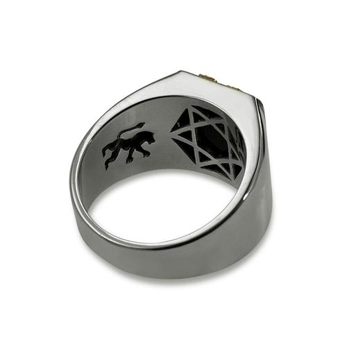 Lion of Judah Silver Signature Ring 3 - Baltinester Jewelry