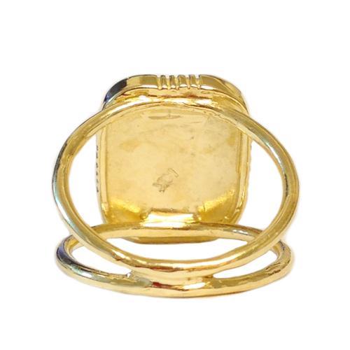 14k Gold Hoshen Ring 3 - Baltinester Jewelry