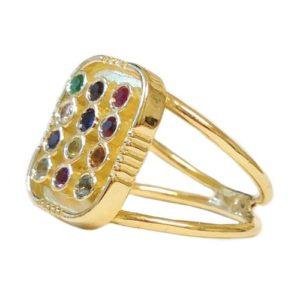 14k Gold Hoshen Ring - Baltinester Jewelry