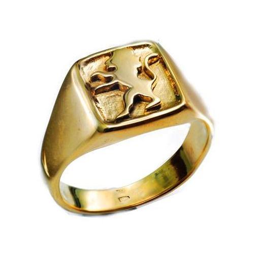 14k Gold Lion of Judah Ring - Baltinester Jewelry