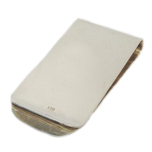 Silver and Gold Masada Coin Hammered Money Clip 3 - Baltinester Jewelry