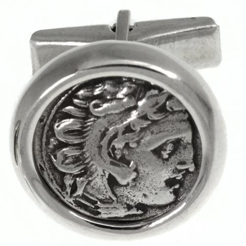 Alexander The Great Coin Cufflinks 3 - Baltinester Jewelry
