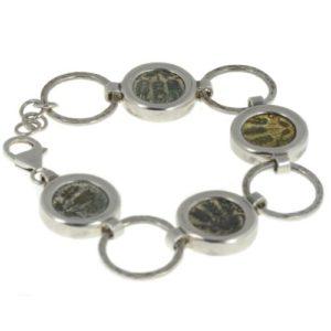 Roman Herod Agrippa Coin Bracelet - Baltinester Jewelry
