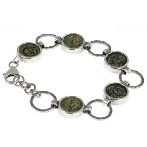 Roman Maccabean Coin Bracelet - Baltinester Jewelry