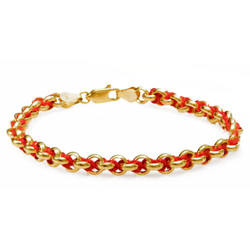14k Gold Kabbalah Bracelet - Baltinester Jewelry