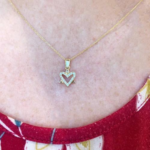Heart Star of David