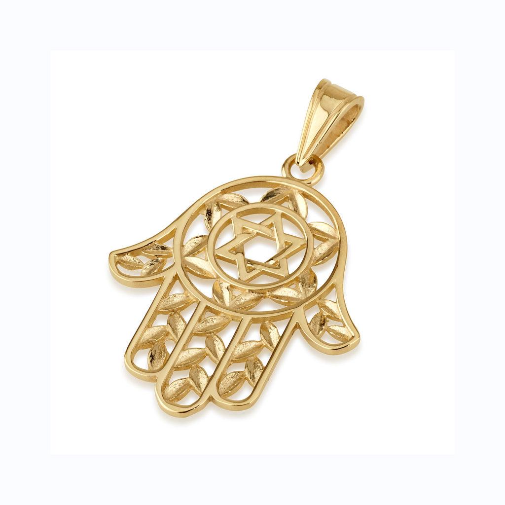 Yellow Gold Hamsa | Baltinester Jewelry
