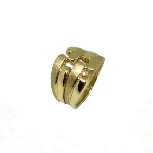 14k Gold Israeli Sabra Ring 2 - Baltinester Jewelry
