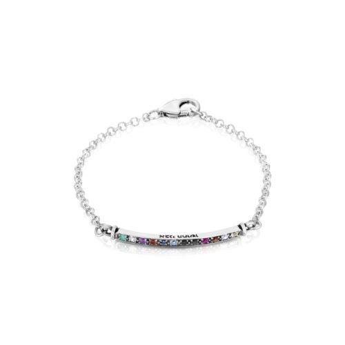 silver hoshen bracelet