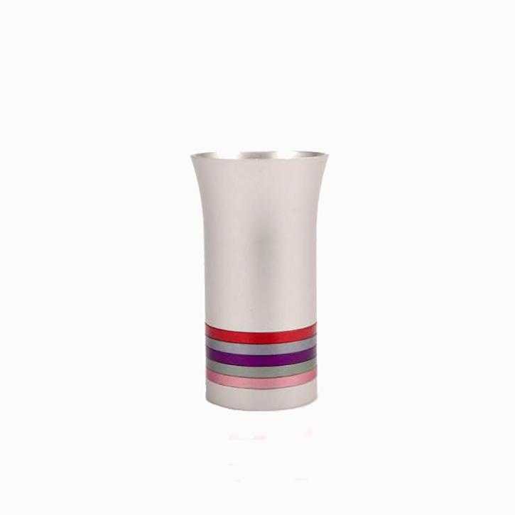 multicolored modern kiddush cup
